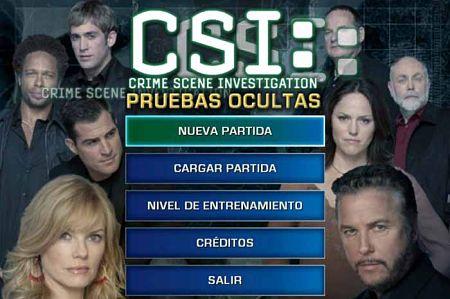 CSI Pruebas Ocultas