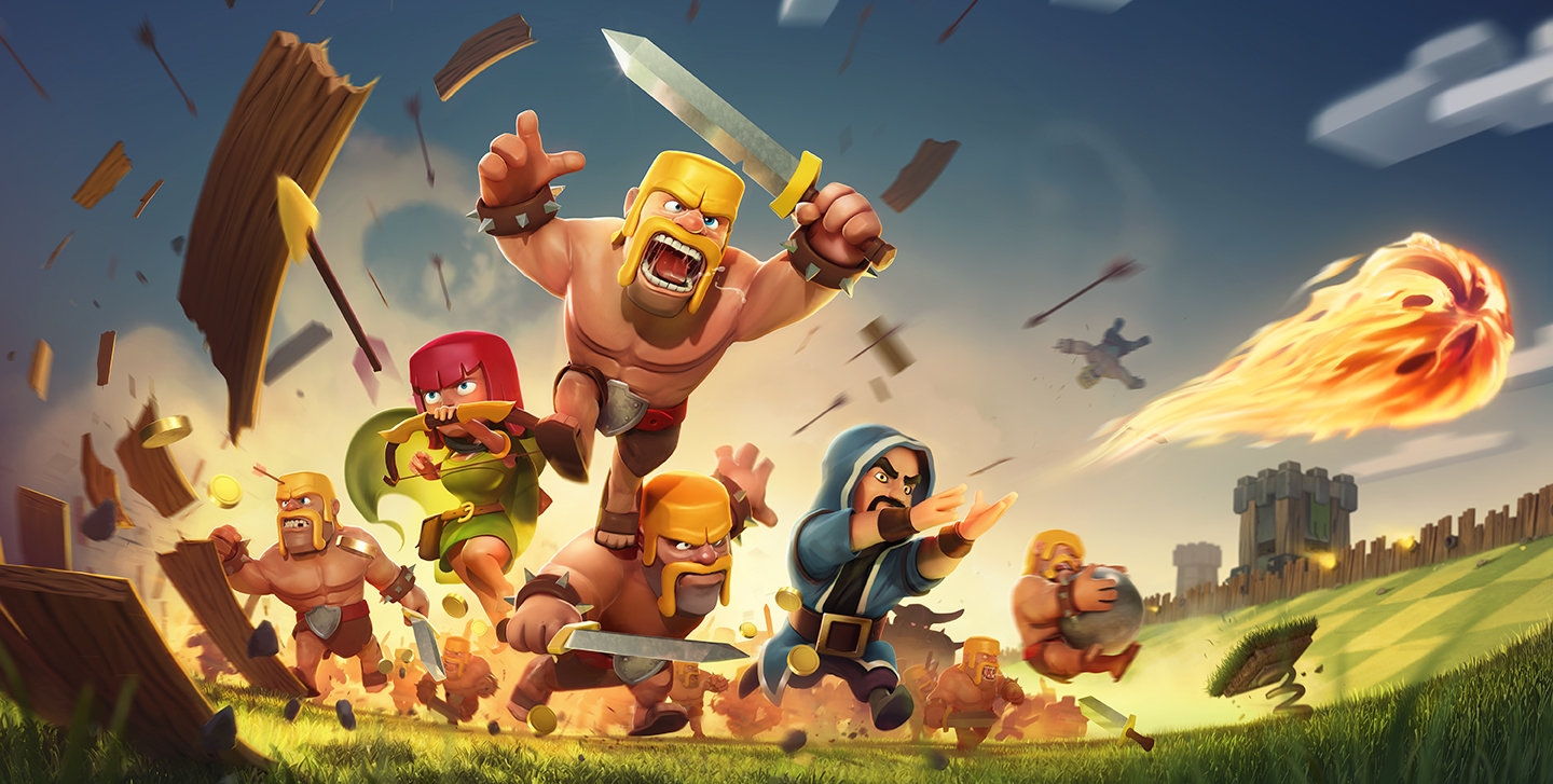 descargar clash of clans